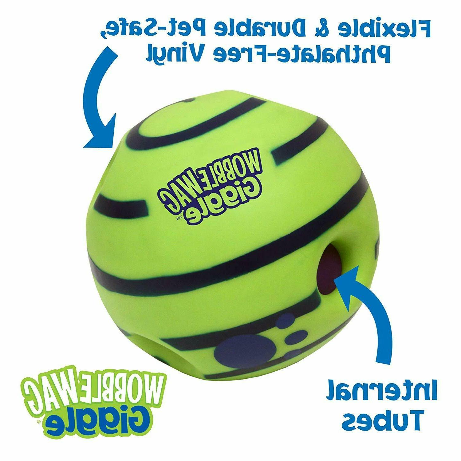 Allstar Innovations Wag Giggle Dog Toy As INDOOR/OUTDOOR