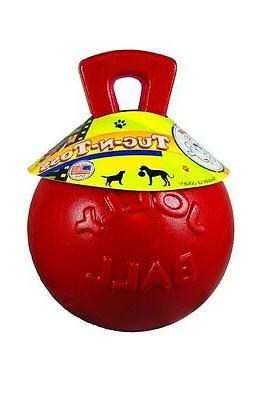 Jolly Ball Dog Toy Pets Tug-n-Toss Active Outdoor Play Heavy