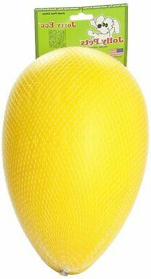 Jolly Pets 12-Inch Jolly Egg  Yellow