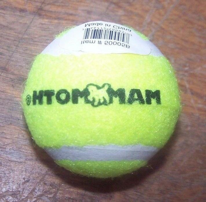 "Lot of 6 NEW 1.8"" Mini Yellow Tennis Balls by Mammoth Bell I"