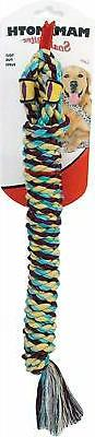 Mammoth Snake Biter Shorty Medium Rope Toy for Dogs 18 Inche