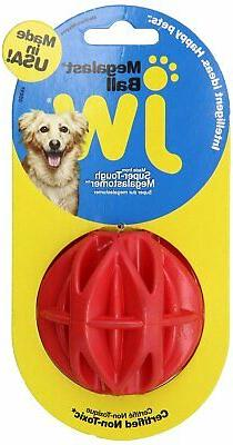 JW Pet Company MegaLast Ball Dog Toy, Medium