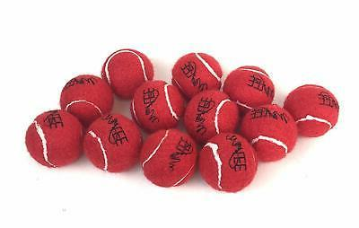 "Midlee Mini Red Dog Tennis Balls 1.5"" by 12-Pack"