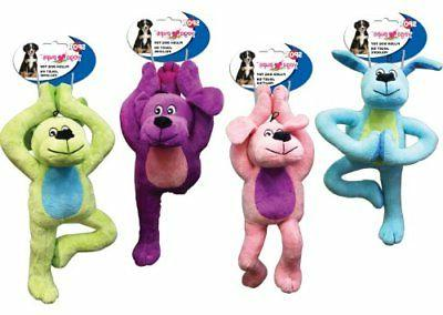 new yoga pups 11 inch dog toy