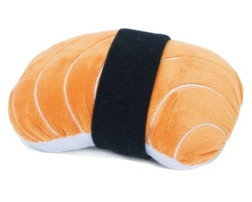 nomnomz plush squeaker dog toy