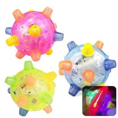 Pet Dog Cats Ball LED Pet Play Toys