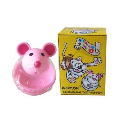 Pet Puzzle Dispenser Treat Ball Feeder Bowl Interactive Training Toy