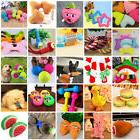 Pet Dog Rope Teeth Chew Toys Animal Shaped Squeaker Squeaky