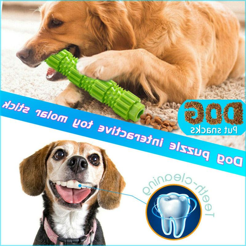 Dog Chew Toys for Aggressive Chewers Treat Training Rubber T