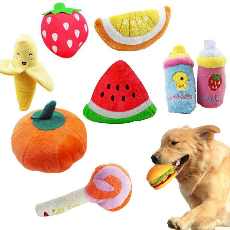pet dog toy funny puppy chew squeaker