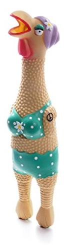 Charming Pet Products Small Grandma Hippie Chick Squeaky Lat