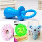Puppy Dog Chew Toys Teething Bulk 4 Pk Ball Donut Squeak Bea