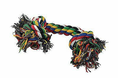 Amazing Pet Products Rope Dog Toy 2 Knot Bones Large