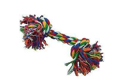 Amazing Pet Products Rope Dog Toy 2 Knot Bones Small