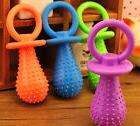 Rubber Pacifier for Pet Toys Dog Cat Puppy Chew Toys with Be
