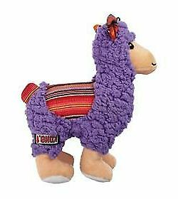KONG Sherps Medium Dog Toy Double Layered Squeaky Crinkly Ll