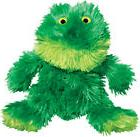 sitting frog squeaker non toxic plush dog