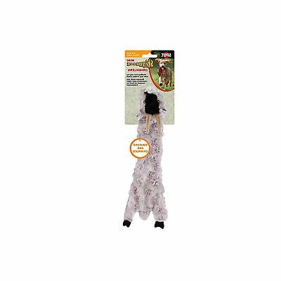 Ethical Pets Skinneeez Crinklers Goat Dog Toy, 14-Inch