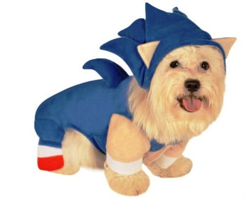 Sonic The Hedgehog Pet Costume Small