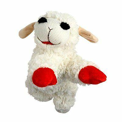 squeak toys pet supplies multi lamb chop