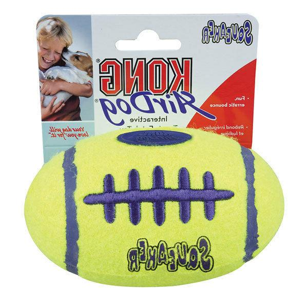 squeaker football dog toy m l most