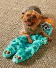 Squeaky Monster Dog Toy Jumbo Plush Squeaking Pup Companion