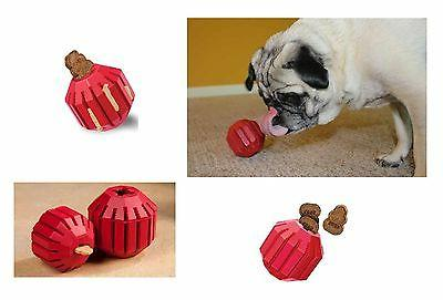 Stuff-a-Ball Interactive Dog Toy Fill with Treats Keep Dogs