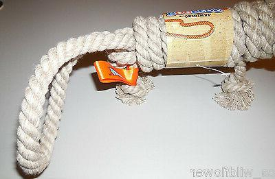"""The Original Rope Fetch Beige Total Length 12 1/2"""" NEW"""