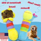 US For Dog Toy Play Funny Pet Giraffe Puppy Chew Squeaker Sq