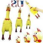 USA Squeeze Shrilling Screaming Rubber Chicken Pet Dog Bite