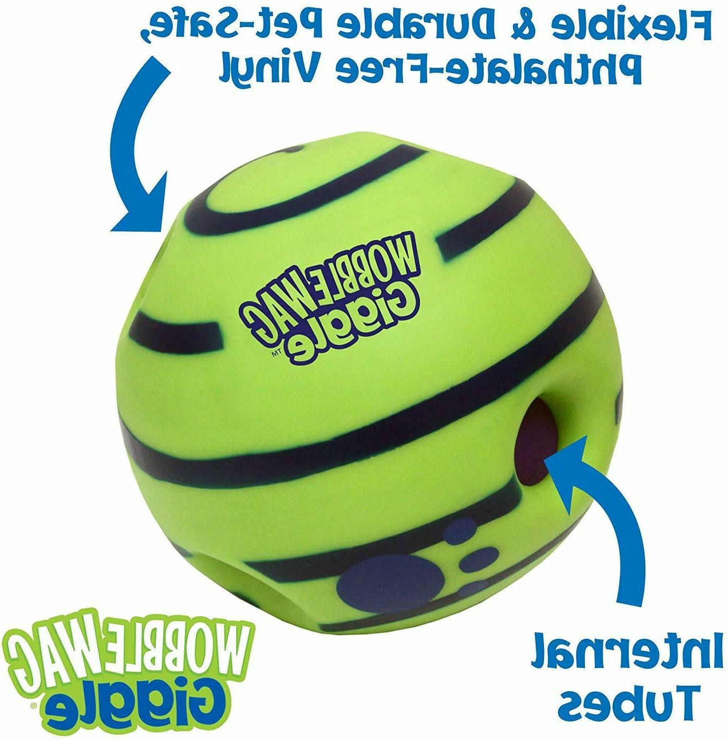Wobble Wag Interactive Toy,Fun Giggle Sounds