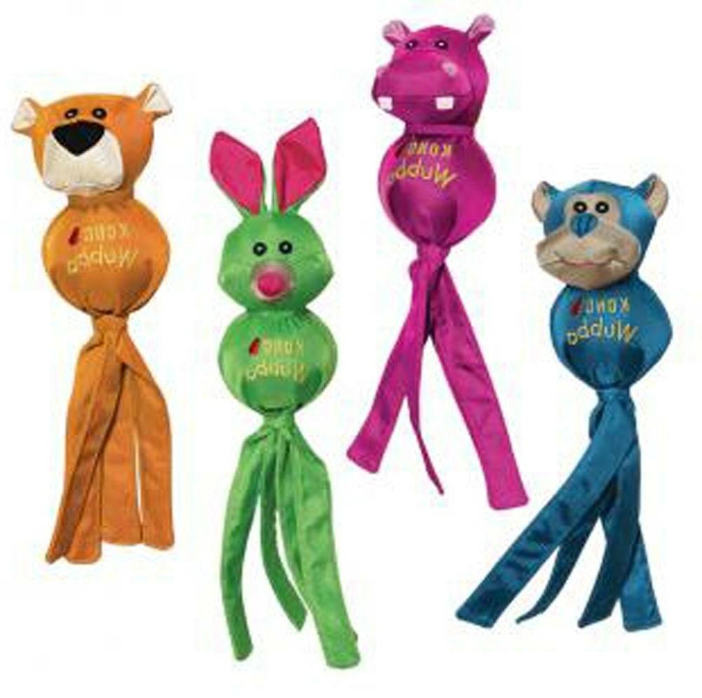 KONG WUBBA BALLISTIC FRIENDS - S/L/XL Nylon Squeaker Fetch F