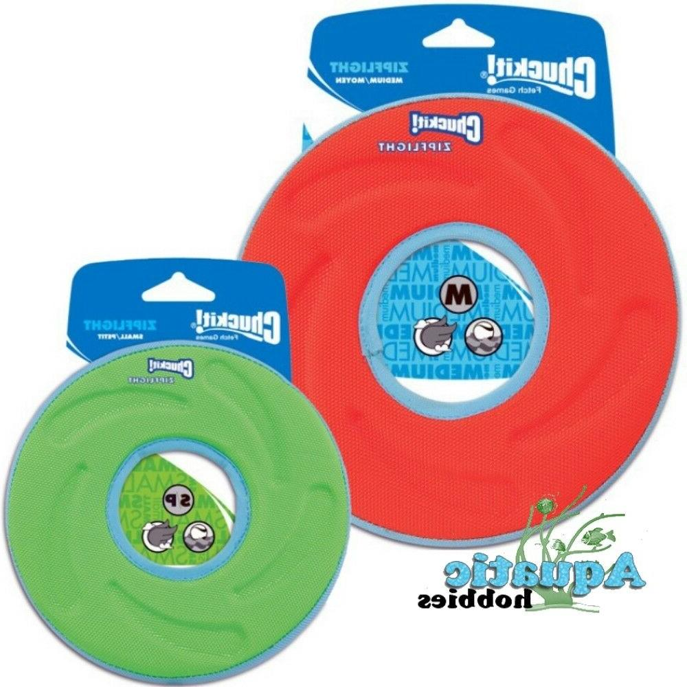 Chuckit! Zipflight Fly, Float & Fetch Frisbee Toy For Dog &