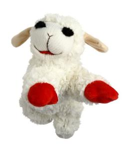 "Multipet Lamb Chop Dog Toy 10"" Extremely Soft Plush Toy Lamb"
