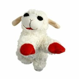 Multipet Lamb Chop Dog Toy Plush & Squeak Toys for Dogs & Pu