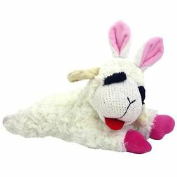 "Lambchop Easter Bunny Ears 10"" Dog Toy"