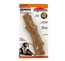 large dogwood durable real wood dog chew