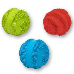 Latex Spiny Ball with Squeaker Dog Toy
