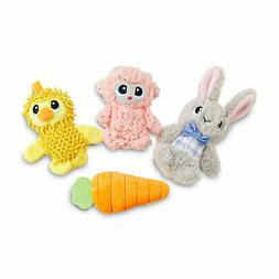Leaps & Bounds Easter Pal Plush Dog Toy in Assorted Styles,