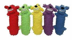Multipet Loofa Water Bottle Buddy Dog Toy, 11-Inch, Colors m