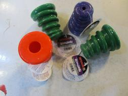LOT OF 4 CHOMPER PET SMALL TREAT DISPENSER DOG CAT TOY