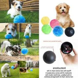 Magic Roller Ball Toy Pet Dog Cat Active Auto Rolling Ball E