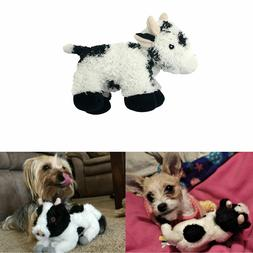 Multipet Look Whos Talking Cow Dog Toy Squeak Pet Toys Real