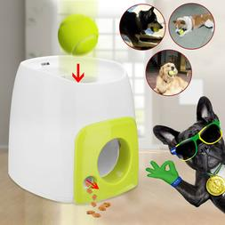 New Automatic Pet Dog Launcher Tennis Ball Toy Interactive F