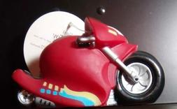 New Pet Dog Motorcycle Vinyl Unisex Red Squeek Toy VT2001