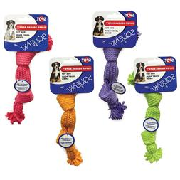 NEW Ethical Pets Super Squeak Rope Dog Toy with 1 Squeaker,