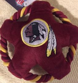 Pets First NFL Washington Redskins Star Disk Plush Squeaky D