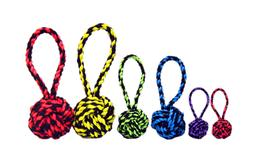 Multipet Nuts for Knots Heavy Duty Rope with Tug Dog Toy fre