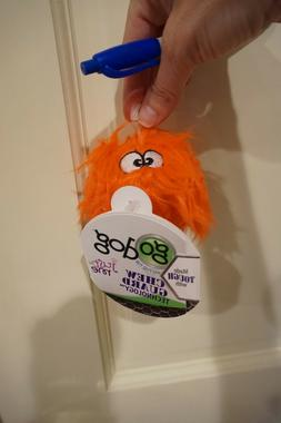 NWT gO DOG JUST FOR ME FURBALLZ DOG TOY ORANGE CHEW GUARD TE