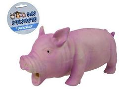 Oinking Latex Pig Dog Toy